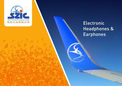 Electronic Headphones & Earphones