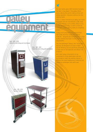 Galley equipment