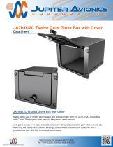 JA70-012C Twelve Dzus Glove Box with Cover