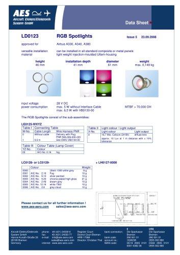 LD0123 Data sheet