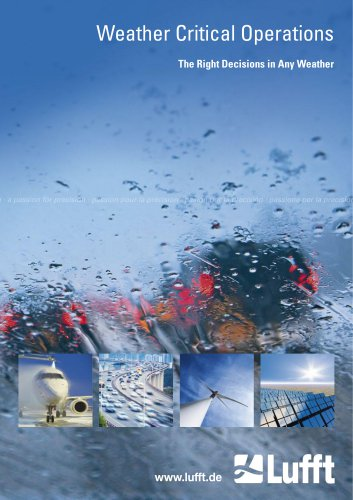 Weather Critical Operations