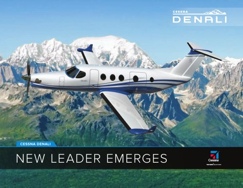 Cessna Denali/New leader emerges