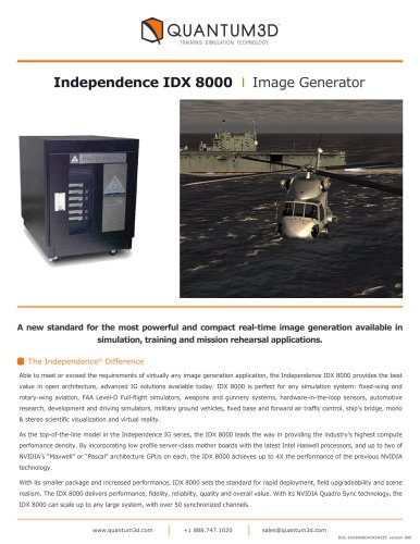 Independence IDX 8000
