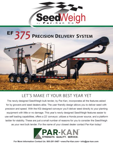 EF 375 PRECISION DELIVERY SYSTEM