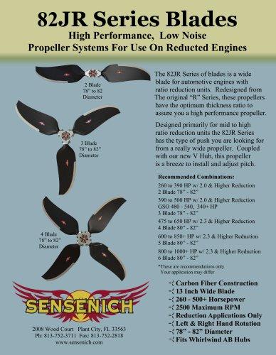 82JR Series Blades