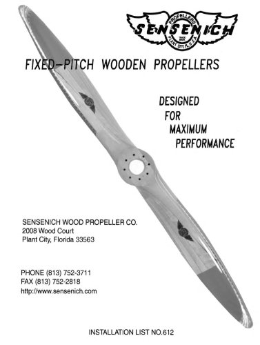 FIXED-PITCH WOODEN PROPELLERS
