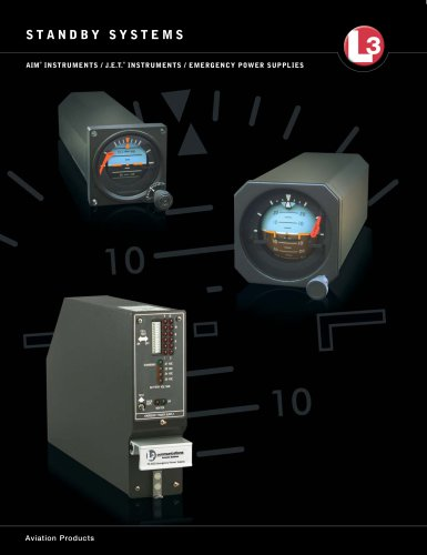 AIM ® INSTRUMENTS / J.E.T. ® INSTRUMENTS / EMERGENCY POWER SUPPLIES