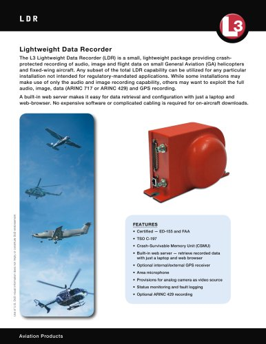 LDR  Lightweight Data Recorder