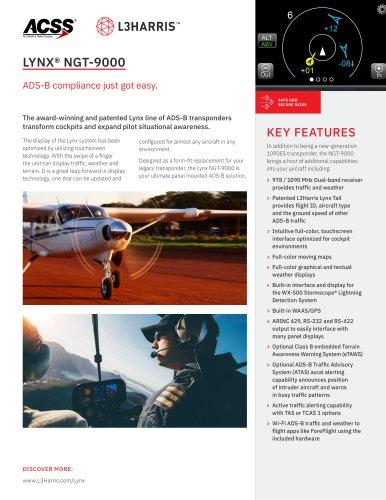 LYNX® NGT-9000