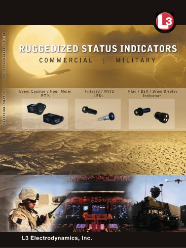 RUGGEDIZED STATUS INDICATORS