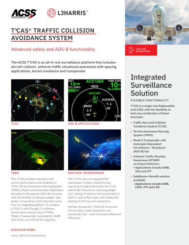 T CAS® TRAFFIC COLLISION  AVOIDANCE SYSTEM