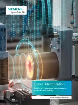 Optical Identification SIMATIC MV