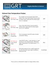 Exhaust Gas Temperature Probes