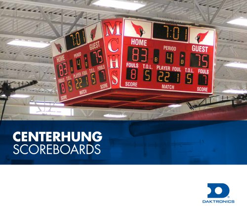 Centerhung Scoreboards