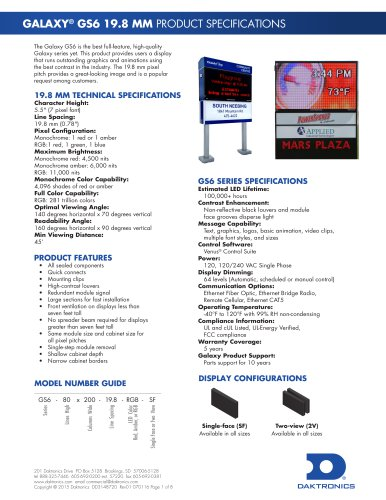 GALAXY® GS6 19.8 MM