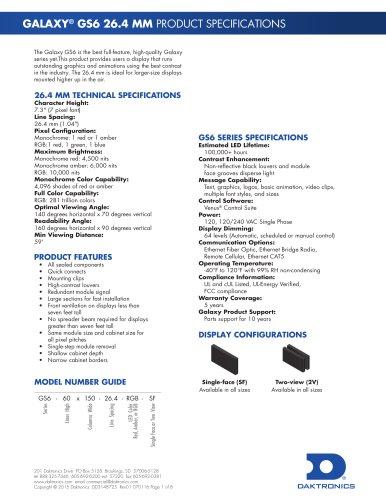 GALAXY® GS6 26.4 MM