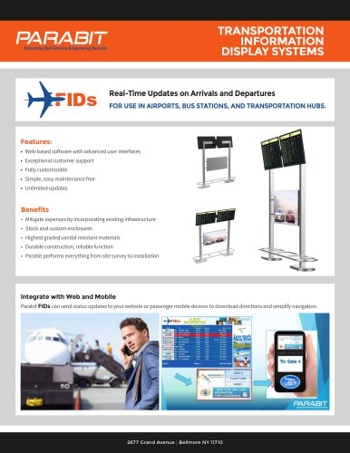 FIDs Software and Displays