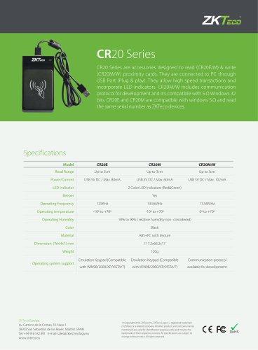 CR20 Series