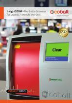 The Bottle Screener for Liquids, Aerosols and Gels