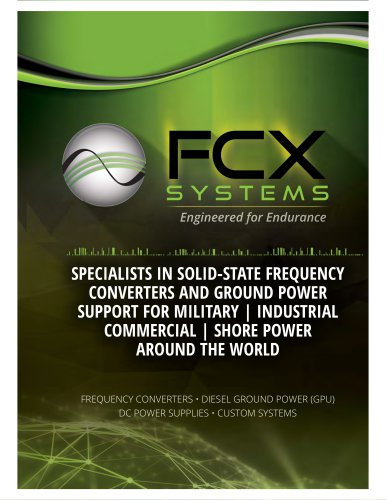 FCX SYSTEMS Catalogue 2016