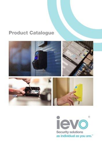 ievo Ltd Product Catalogue 2016