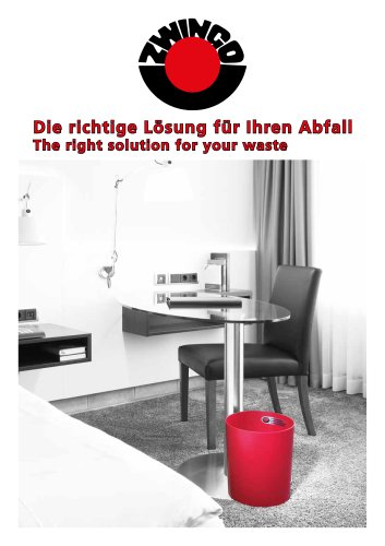 Catalogue waste collection 2016