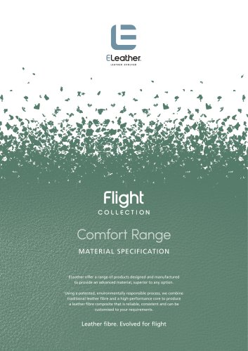 Flight Collection Comfort range