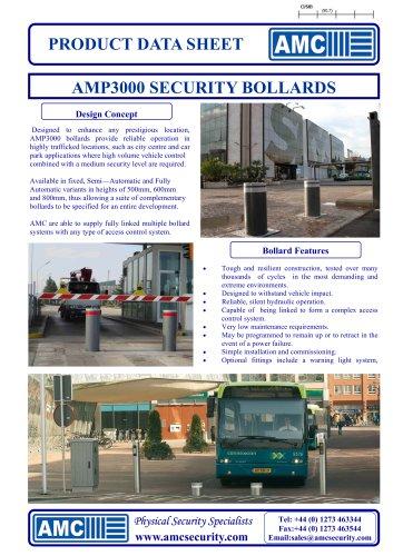 AMP3000 Bollards Systems