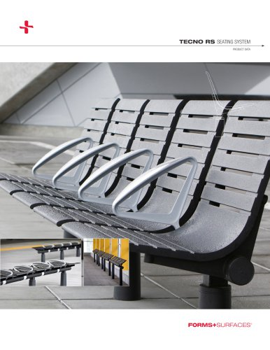 Tecno RS Seating System Product Data Sheet