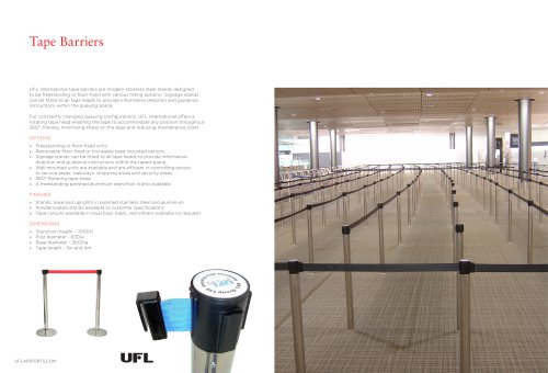Tape Barriers