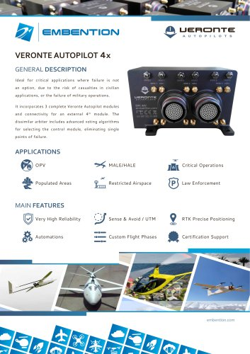 VERONTE AUTOPILOT 4x