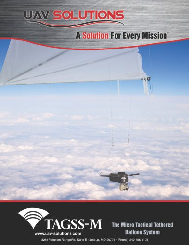TAGSS-M (Tactical Airborne Ground Surveillance System-Micro)