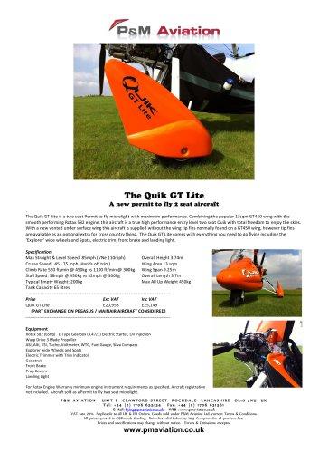 The Quik GT Lite