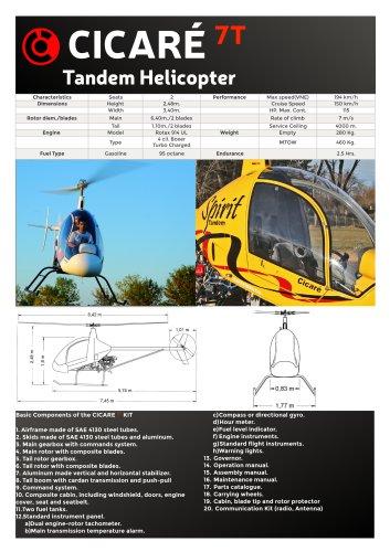 Technical Caracteristics CICARÉ 7T