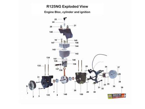 R125NG Exploded View