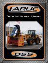 Detachable snowblower D55