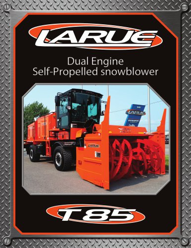 Dual Engine Self-Propelled snowblower T85