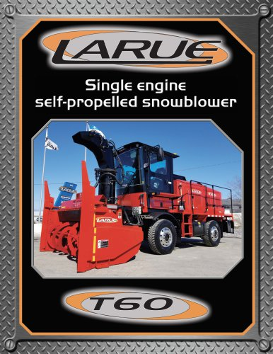 Single engine self-propelled snowblower T60