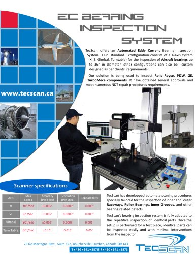 BEARING INSPECTION SYSTEM