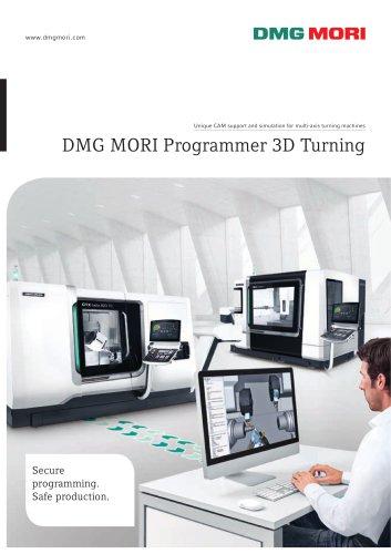 DMG MORI Programmer 3D Turning