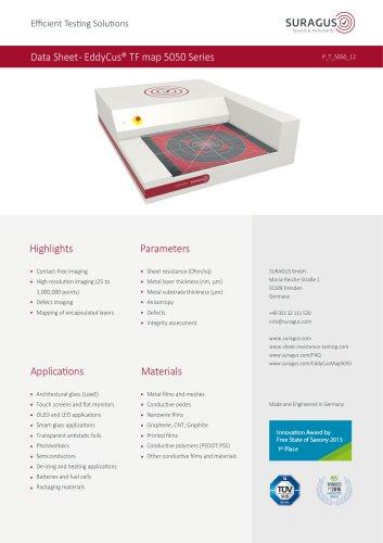 Data Sheet- EddyCus® TF map 5050 Series