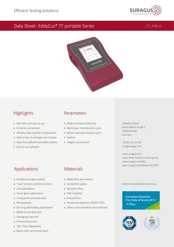 Data Sheet- EddyCus® TF portable Series