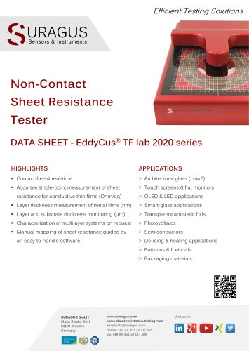 EddyCus® TF lab 2020