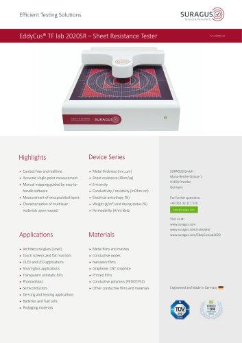 EddyCus® TF lab 2020SR