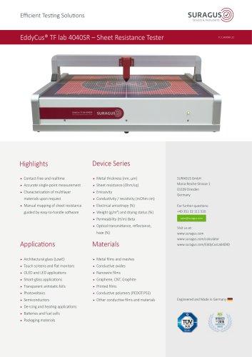 EddyCus® TF lab 4040SR