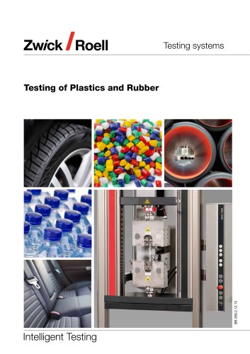 Testing of Plastics and Rubber