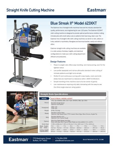 Blue Streak II® Model 623XKT