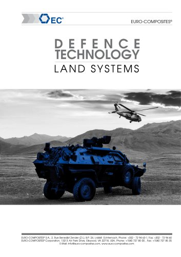 Market segment defense land system