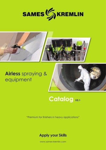 Airless spraying & equipment