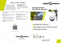 Nanogun Airspray Electrostatic Spraygun